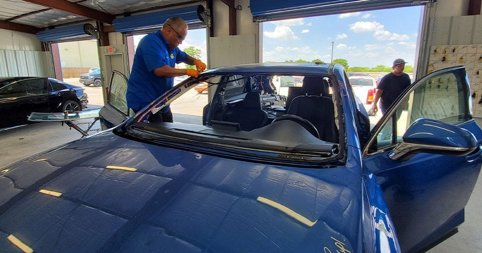 windshield repair in San Antonio