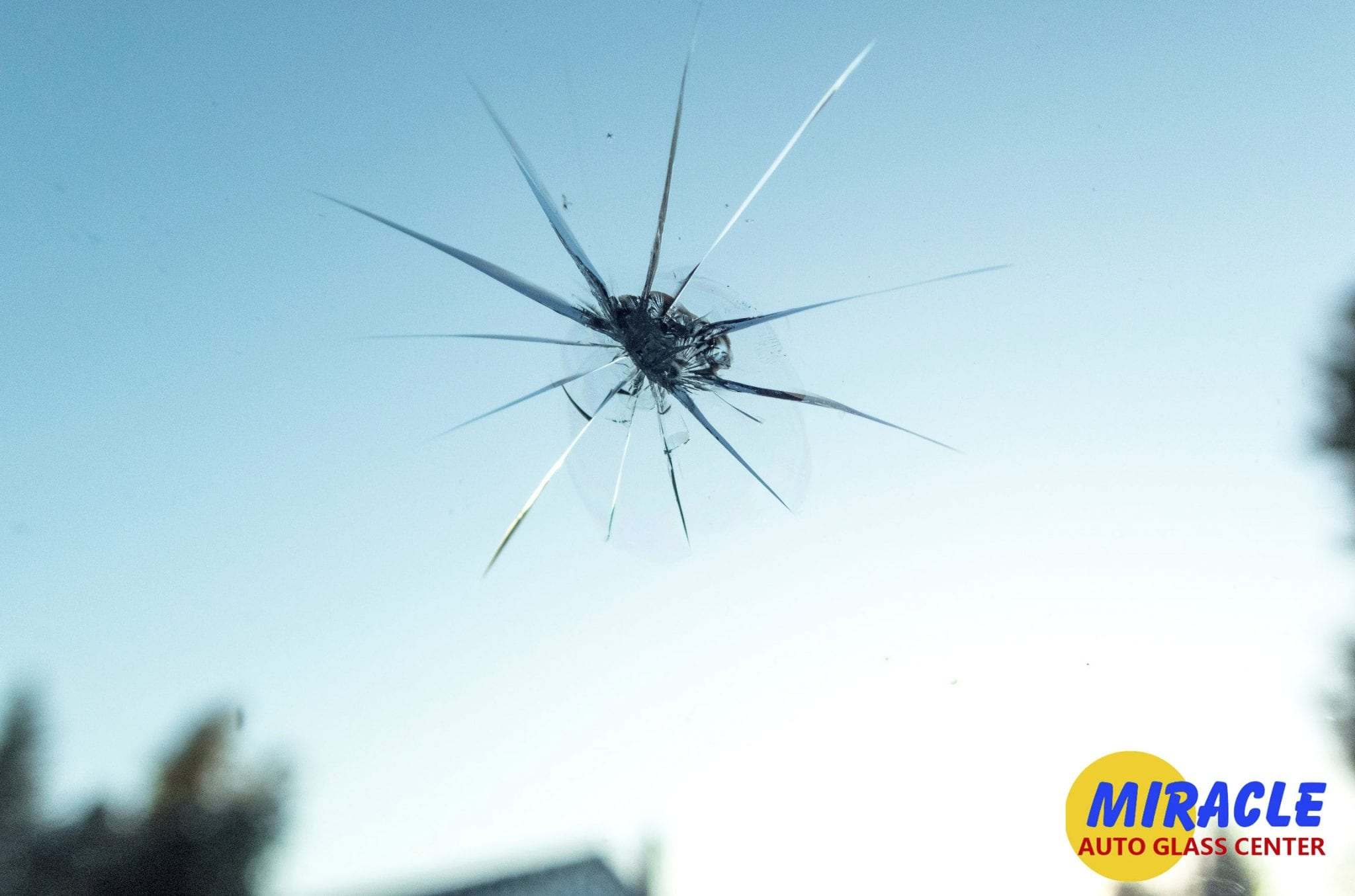 damaged windshield, windshield repair