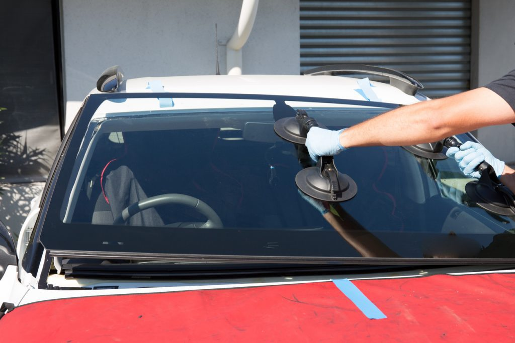 Windshield being replaced San Antonio Texas